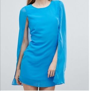 NWT ASOS Cape Mini Dress